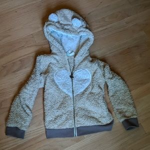 Roxy Jackets & Coats - Roxy Girl Teddy Bear good fuzzy jacket!